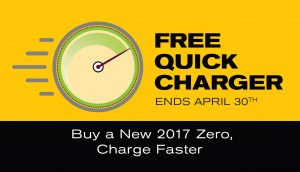 April Promotion Banner - Free Charger