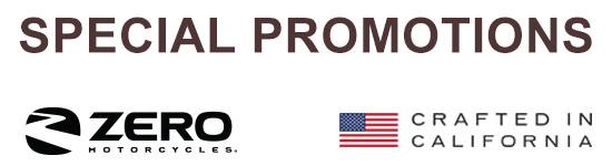 Zero Special Promotions