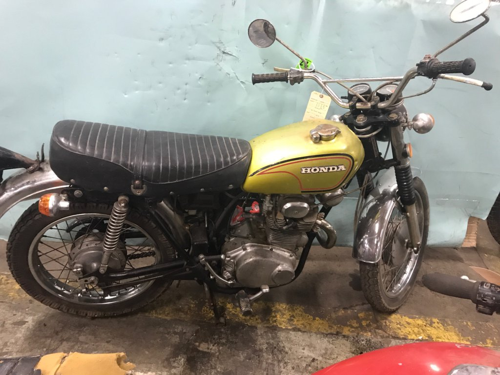 1972 Honda Cl350 B Piston Society