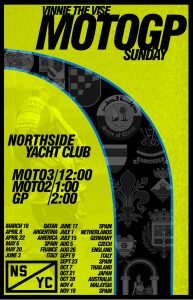 Moto GP Watch Party - England @ Northside Yacht Club | Cincinnati | Ohio | United States