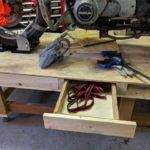 Drawer 2 - Upcycled moto work table